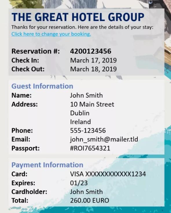 Symantec:三分之二的酒店都在无意中泄露客户信息