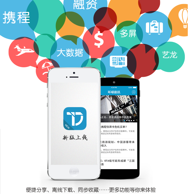 环球旅讯新版iOS和安卓APP来袭